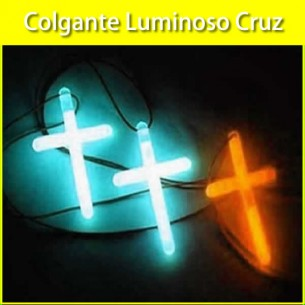 Colgantes luminosos cruces