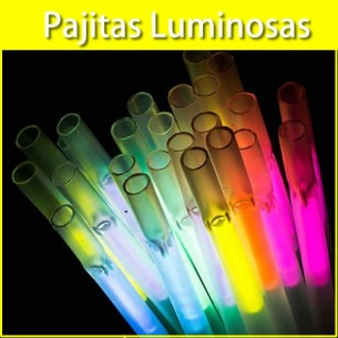Pajitas luminosas
