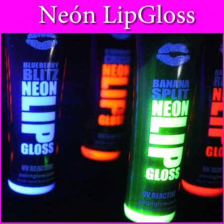 Neon Lip Gloss Labios