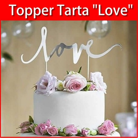 Topper tarta love