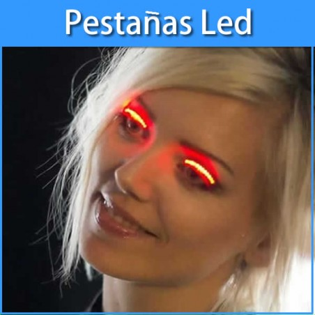 Pestañas Led