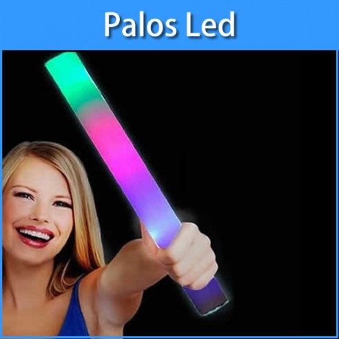 Palos de espuma luminosos led