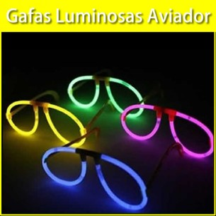 Gafas Luminosas Aviador Granel
