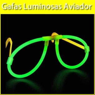 Gafas Luminosas Aviador Individuales