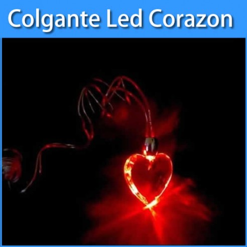 Colgantes Led Corazon