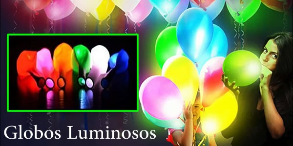 Globos Luminosos con Led para decorar Fiestas